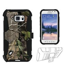 Beyond Cell Shell Case Armor Kombo for Samsung Galaxy S6 Active  G890A Hunter...