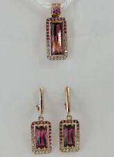Handmade Pink Tourmaline Fine Jewellery