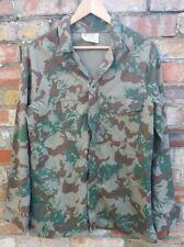 SAP SOUTH AFRICAN POLICE KOEVOET CAMO Training Jacket  RL92cm 1980's
