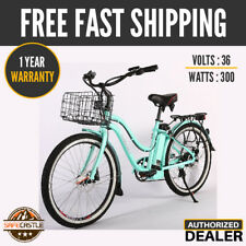 X-Treme Malibu Elite Max 36 V,300W Electric Cruiser Bicycle New Free Shipping