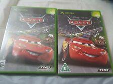 Disney Cars Original x2 beide mit Handbücher Xbox schneller & kostenloser Versand