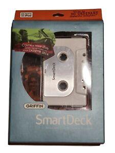 Griffin SmartDeck TF136LL/A  Intelligent Cassette Adapter for Apple Ipod  New