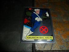 '92 XMEN QUICKSILVER MARVEL VENDING MACHINE NON-PRISM FOIL RED X STICKER NM MINT