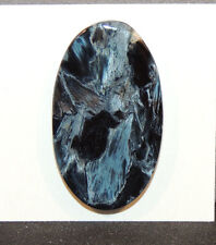 Pietersite Cabochon 36x21mm with 4mm dome from Africa (10982)