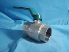 "Econ 2"" Ball Valve Aluminum NPT New"