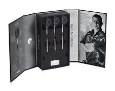 Unicorn Noir World Champion Gary Anderson Phase 3 90% Tungsten Black 25g Darts