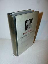 Leon Tolstoi: Journaux et Carnets vol. III 1905-1910 La Pleiade 1985 ex libris