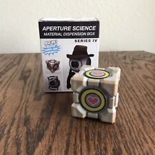 Portal 2 Series IV Rusted  Activated Companion Cube in Excellent Condition w/