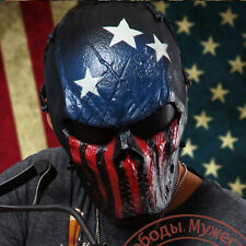 Full Face Metal & Mesh Protection Mask Outdoor Airsoft Paintball Tactical Gear