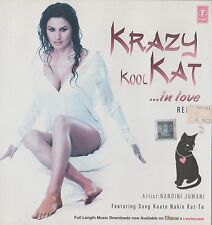 KRAZY KOOL KAT IN LOVE REMIX - BRAND NEW SOUND TRACK CD SONGS - FREE UK POST