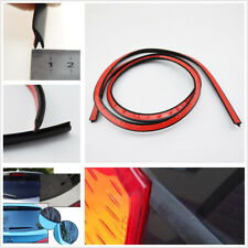 4M V-Type Car Accessories Rear Windshield Rubber Weatherstrip Sealed Strip Black