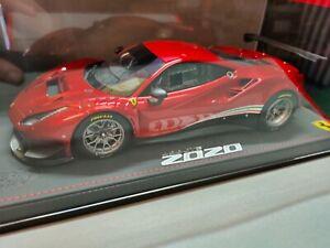 Ferrari 488 GT3 2020 Rosso Fuoco - bbr 1:18 - 24 exemplaires