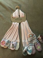 Demdaco Mommy & Me Activity Scarf Pink Baby Shower Christmas Gift Child