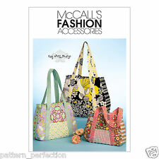 McCall's 5822 Sewing Pattern to MAKE Lined Shopping Bags - 3 Sizes Kay Whitt