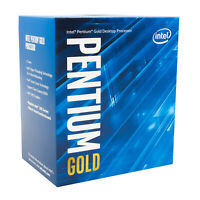 Intel Pentium Gold G5400 2 Core 3.7 GHz LGA1151 Desktop Processor BX80684G5400