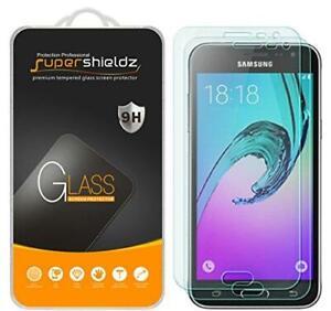 (2 Pack) Supershieldz Designed for Samsung Galaxy J3 V, J3V Tempered Glass