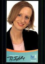 Angela Fitsch HR Autogrammkarte Original Signiert ## BC 24414