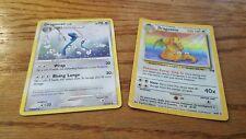 Dragonair 52/146 & Dragonite 4/62 - Pokemon Card holo PLAYED singles