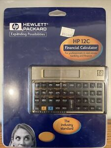 Hewlett Packard HP 12C Financial Calculator New In Package