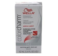 Wella Color Charm Liquid Haircolor 042 Warming Gold Dore Pur, 1.4 oz (Pack of 3)