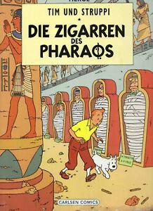 Hergé: Tim und Struppi * Farbfaksimile * Band 3: Die Zigarren des Pharaos * Z3
