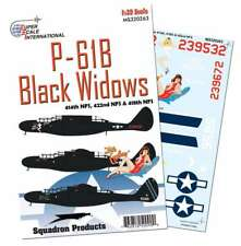 P-61B Black Widows of 414, 418 422 NFS (1/32 decals, Superscale 320263)