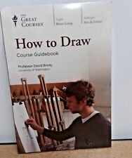 Great Courses: How to Draw Course Guidebook+6-Disc DVD NEW