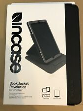 INCASE BOOK JACKET REVOLUTION FOR IPAD AIR HORIZONTEL & VERTICAL BRAND NEW