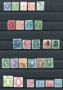 ARGENTINA -  Selection classic material, Canc./mint no gum