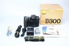 Nikon D300 12.3MP Digital DSLR Camera Body, Black APSC APS-C