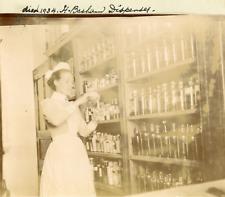 Maghreb, Pharmacie d'un Hôpital Anglais, H. Bashan, ca.1910, vintage citrat