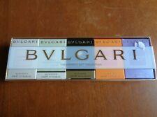 New Bvlgari Lot of 5 Parfum & Eau de Toilette Omnia Jasmin 5ml .17 Oz.