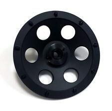 "2Pk 7"" Quarter Round Pcd Grinding Cup Wheel- 9 Segments- Premium Quality"