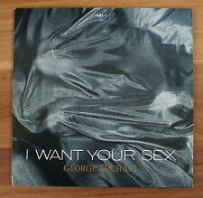 "Single 7"" Vinyl George Michael - I want your sex  Lust Brass in Love TOP Zustand"