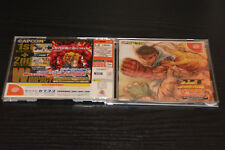 USED CAPCOM Street Fighter III W Impact   SEGA DREAMCAST  JAPAN JP JAPANESE