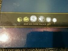 2010 - Six Coin Proof Set