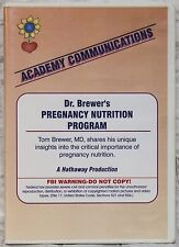 The Bradley Method Teacher's DVD Dr Brewer's Pregnancy Nutrition Program