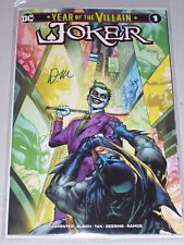 Year Of The Villain: Joker #1! (2019) Midtown Variant! Signed-Doug Mahnke! NM!