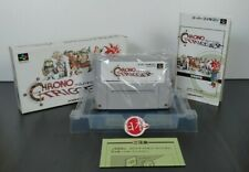 Chrono Trigger + MANUAL Super Famicom Amazing SNES Nintendo Japan FREE SHIP AIR