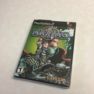 PS2 Maximo Ghosts to Glory Brand New Factory Sealed