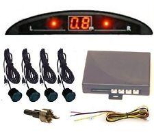 4 Reversing Parking Sensors- LED Display & Buzzer Alarm