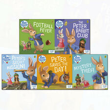 Peter Rabbit Animation collection 5 Books Set by Beatrix Potter(Football Fever!