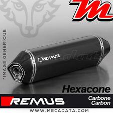 Silencieux Pot d'échappement REMUS Hexacone Carbone Triumph Tiger 800 XC 2014