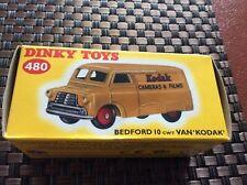 Deagostini/atlas Dinky Toy Car Ref 480 Bedford 10 Cwt Van Kodak Brand New