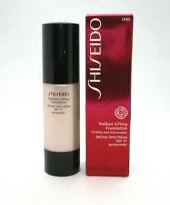 Shiseido Radiant Lifting Foundation Broad Spectrum Spf 17 ~ 1.2 oz ~ I 00 ~ BNIB