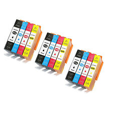 3 Set of 12 Ink Cartridge  For HP 564XL Photosmart 5510 5511 5512 5514 5515 5520