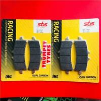 HONDA FRONT BRAKE PADS CBR 1000 RR SP 14 > SBS DUAL CARBON RACE RACING 901DC