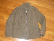 Diesel Brand Mens Coat Jacket Olive Army Green Size L RN93243