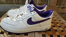 Nike Air force 1 Purple & White  - 315122 152 - Size 7