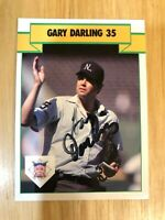 MLB UMPIRE Gary Darling Autographed Hand Signed TM Sports Card #56